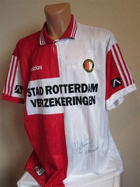 Kaos T Shirt Ronald Koeman ronald koeman feyenoord 1996 shirt origineel gesigneerd