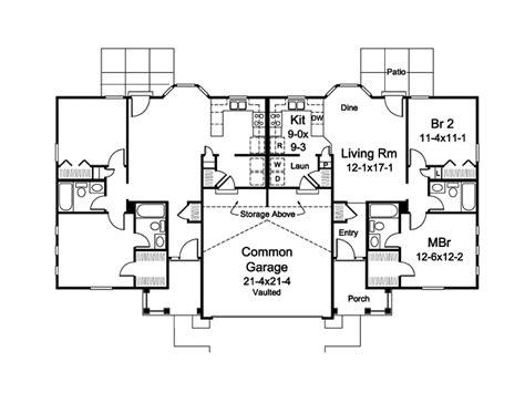 turnberry place floor plans turnberry place ranch duplex plan 007d 0243 house plans