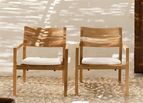 Tribu Kos by Tribu Kos Teak Garden Easy Chair Tribu Garden Furniture