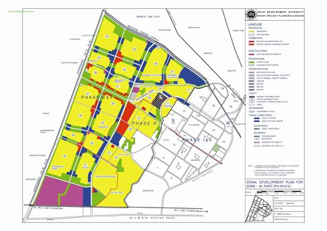 layout and land use of chandigarh zonal development plan map zone m north west delhi 2 pdf
