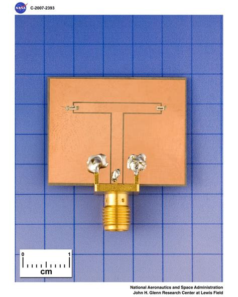 dvids images loaded folded slot antenna 4 8 ghz