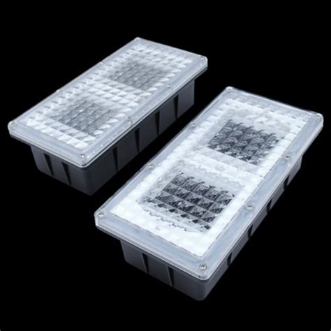 paverlight solar powered brick lights