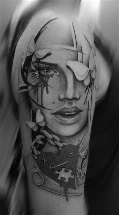 photo realism tattoo artist california nic westfall www westfalltattoo com black grey photo