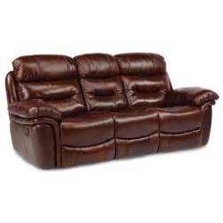 Brown Leather Reclining Sofa And Loveseat Westport Brown Leather Match Power Reclining Sofa Loveseat