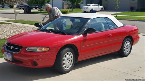 1997 Chrysler Sebring Convertible by 1997 Chrysler Sebring Convertible Cars For Sale