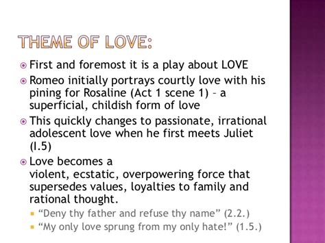 theme of love in romeo and juliet analysis essay introduction exles romeo and juliet docoments
