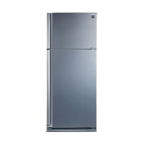 Tutup Freezer Sharp jual weekend deal sharp sj ip 860 nlv sl kulkas harga kualitas terjamin blibli