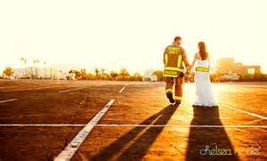 firefighter wedding trash the dress 187 chelsea photography las vegas southern california and destination