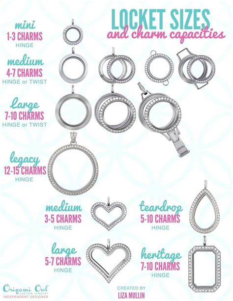 Origami Owl Sizes - best 25 origami owl charms ideas on