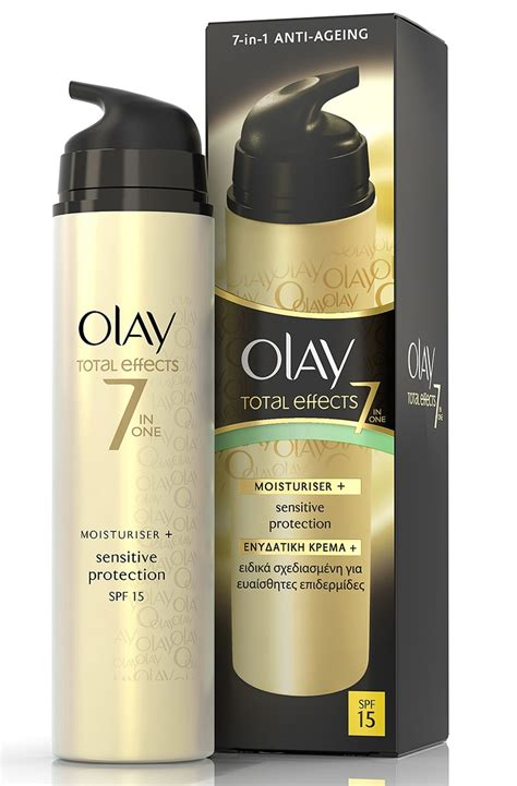 Olay Total Effect 50 Gr olay total effects 7 in 1 moisturizer sensitive 50ml