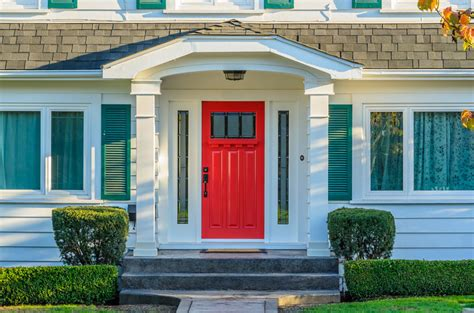White House Door by Front Door Colors Paint Ideas Color Meanings