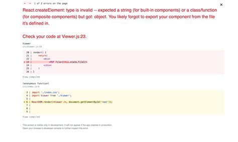 React Component Not Recognized As String Or Class Function Reactjs React Component Template