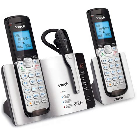 house phones at walmart vtech cs6114 dect 6 0 cordless phone with caller id call waiting white with 1 handset walmart com
