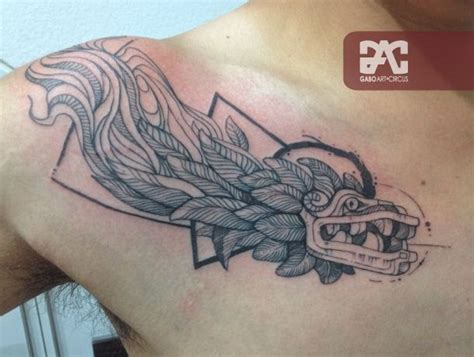 quetzalcoatl tattoo design 25 best ideas about black line on