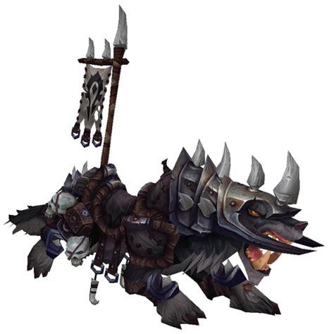 0008183848 war of the wolf warcraft mounts prestigious war wolf