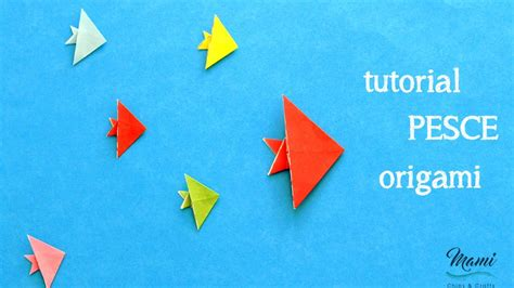tutorial origami burung youtube tutorial pesce origami youtube