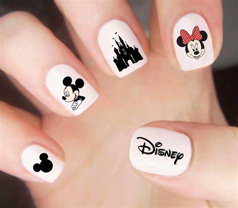 Nail Sticker Mickey disney nail decals disney nails mickey mouse nail