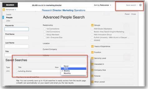 Linkedin Advanced Search How To Use Linkedin As A B2b Link Prospect Development Tool