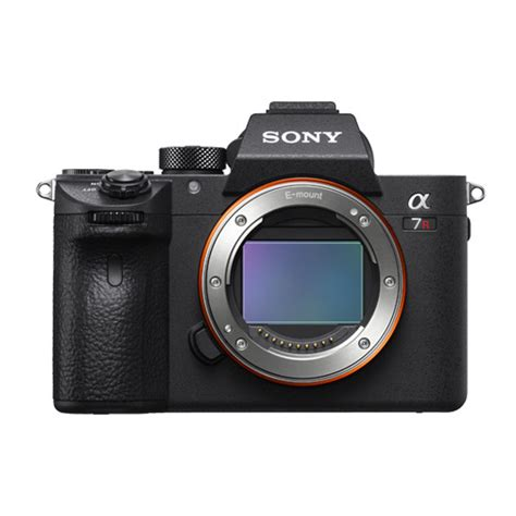 new sony mirrorless sony a7r iii mirrorless officially announced