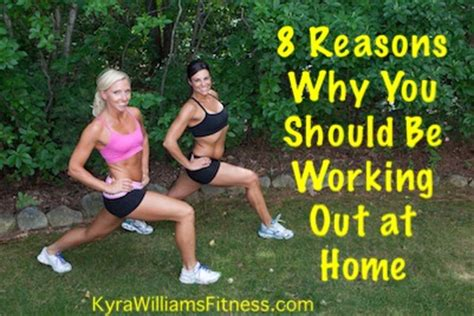 8 reasons why you should be doing at home workout routines