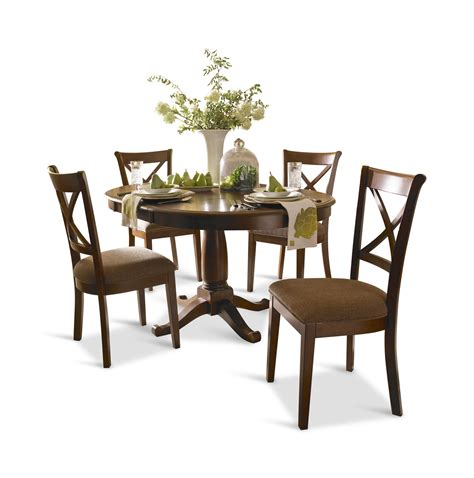 Desoto 42 Round Table With 4 Side Chairs By Thomas Cole 42 Dining Table Sets