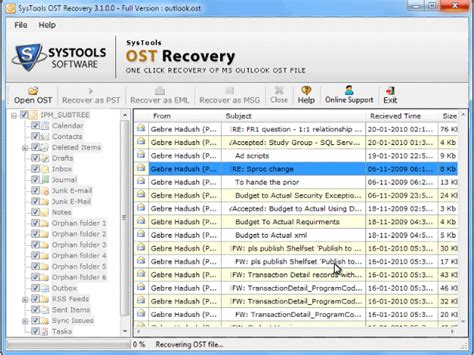 Probation Office On Ost by Ost 2 Pst Freeware Effective Ost 2 Pst Conversion Save