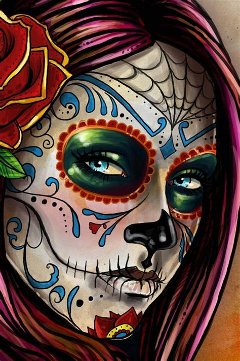 day of the dead colors more color ideas day of the dead