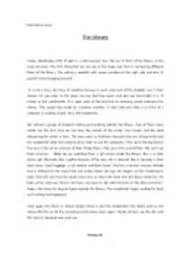 Library Essay In by Descriptive Essay The Library Gcse Marked By Teachers