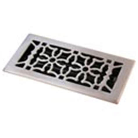 Brushed Nickel Bathroom Vent Cover Brushed Nickel Finish Floor Registers Heat