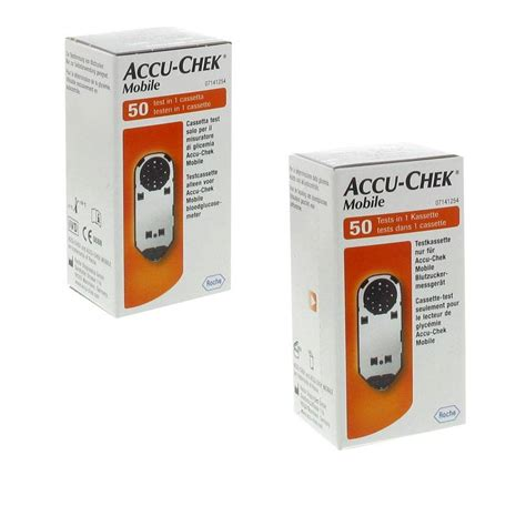 accu chek mobile cassette 100 accu chek mobile cassette test duopack shop pharmacie fr