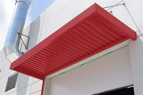 aluminum awning panels imperial marquee awning with w shaped panels