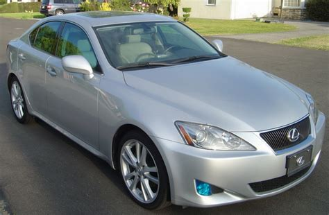 lexus isf silver 2006 lexus is250 sports sedan great condition automatic