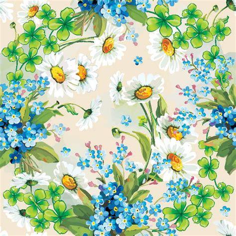vector vintage flower backgrounds freecreatives