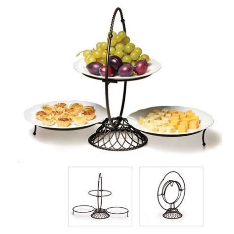 three tier buffet server 162 best images about tiered buffet display stands on