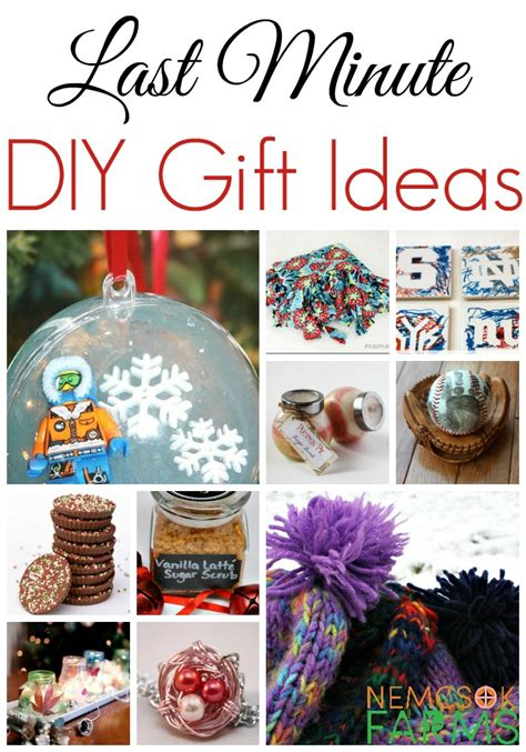 diy gift ideas last minute diy gift ideas nemcsok farms