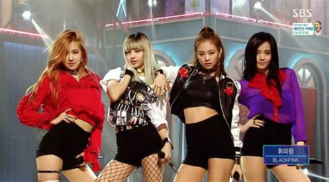 blackpink whistle yg life blackpink 휘파람 whistle 0814 sbs inkigayo