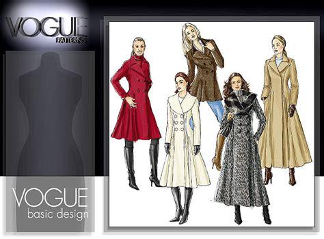 coat pattern vogue patterns 8346 misses coat