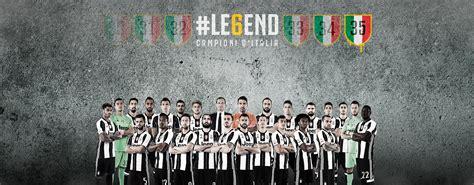Tshirt Scudetto Juventus Legend Le6end le6end scudetto 2016 2017 juventus