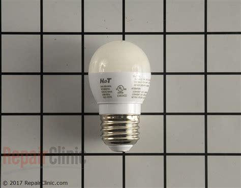 whirlpool refrigerator light bulb light bulb w11043014 repairclinic com