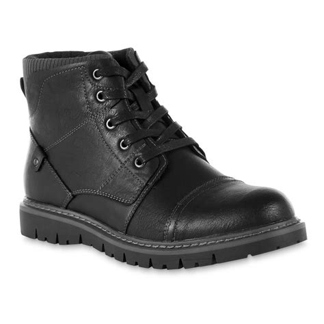 sm new york s black lace up boot shop your way