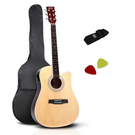 Ap 600q 0 58 Mm Pik Gitar Bass Akustik Elektrik 58 6 steel string 45in electric acoustic guitar pack buy