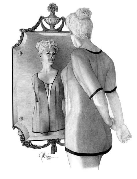 mirror image drawing  joe olivares