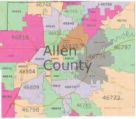 allen county real estate by zip code map fort wayne real