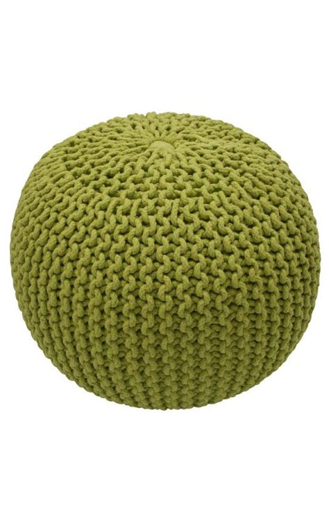 knitted pouf rugs usa poufs knitted pouf lime rugs usa