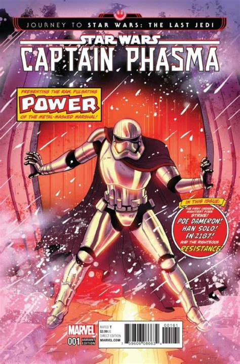 wars journey to wars the last jedi captain phasma preview of journey to wars the last jedi captain