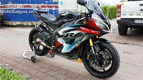 len yamaha r6 yamaha r6 độ đẹp v 224 l 234 n nhiều đồ chơi motosaigon