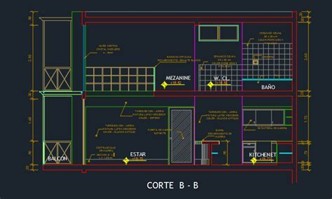 Hotel Suite With Gym And Floor Plans 2D DWG Design Section