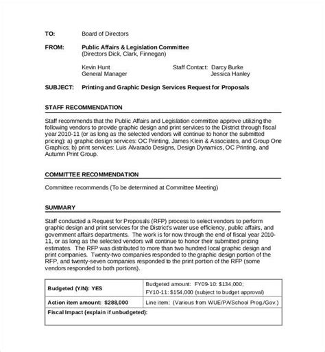 graphic design proposal template doc sle graphic design proposal template 11 free