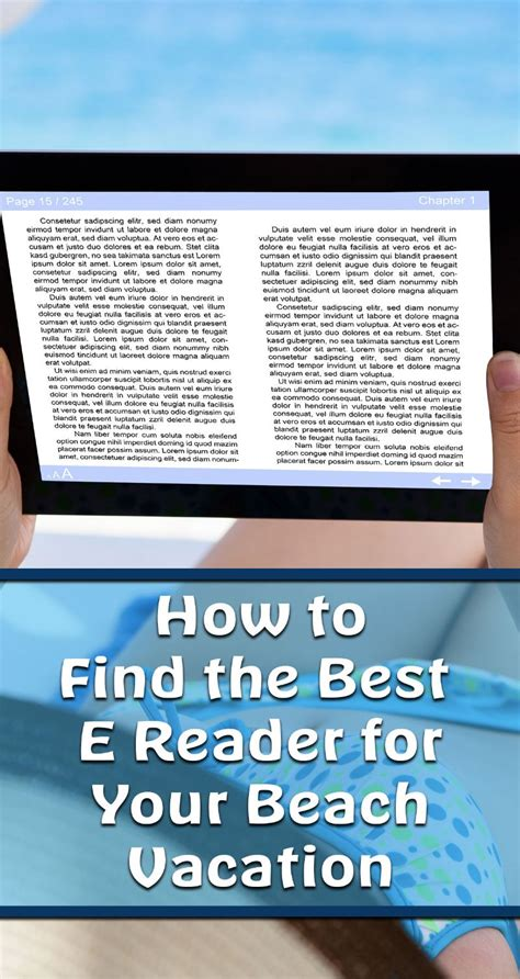 what is the best e reader how to find the best e reader for your vacation