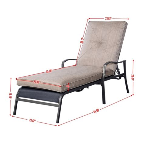 patio lounge chair dimensions outdoor chaise lounge dimensions patio chair furniture
